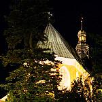 Katedra Oliwska nocą