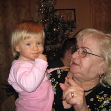 Oliwka z babcią