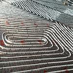 Instalacja ogrzewania podłogowego (9,5-10,5mb rury na m2)