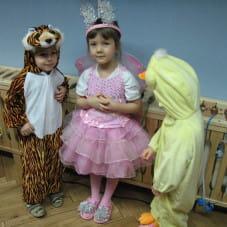dzieci na balu