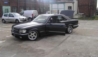 Mercedes S500 SEC W126