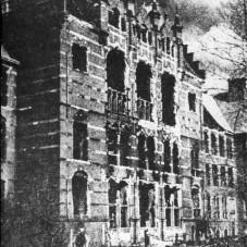 Zniszczenia wojenne na Politechnice Gdańskiej