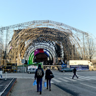 Scena sylwestrowa w Gdyni