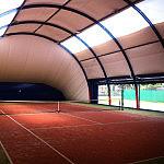 Hala tenisowa, korty tenisowe, hala sportowa, piłka nożna, tenis