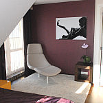 projekt i aranżacja wnętrza: sypialnia
