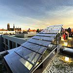 Tarasy widokowe na dachu biurowca Zefir
