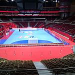 Ergo Arena. Czerwona wykładzina na Mistrzostwach Europy szczypiornistów