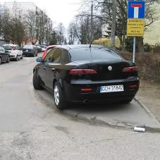Parkowanie na Morenie