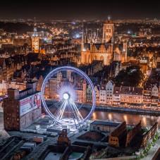 Nocny Gdańsk