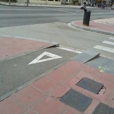 Prawidłowo oznakowana droga dla rowerów