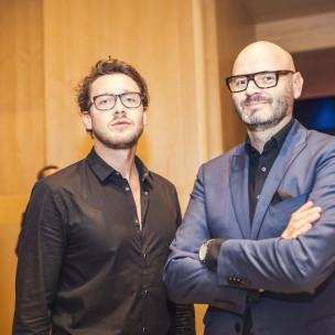 Andrzej Katafias (po prawej)