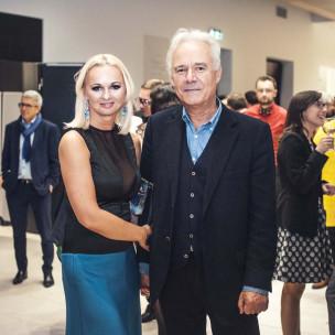 Agnieszka Bomba i prof. Jerzy Limon