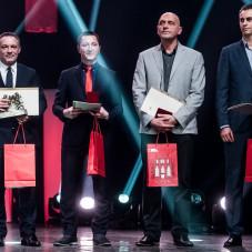 Piotr Nowak, Piotr Buliński, Marcin Wołosz i Edward Pawlun