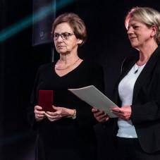 Danuta Wałęsa i Danuta Janczarek