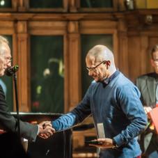 Wręczenie nagrody Marszałka Województwa Pomorskiego
