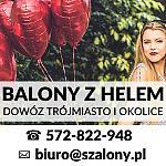 SKLEP SZALONY.PL - balony z helem, poczta balonowa - Trójmiasto - Gdynia, Skwer Kościuszki 17/19c