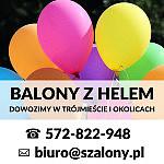 SKLEP SZALONY.PL - balony z helem, kurier balonowy - Trójmiasto - Gdynia, Skwer Kościuszki 17/19c