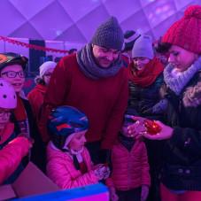 Walentynki na lodowisku