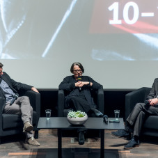 Robert Więckiewicz, Agnieszka Holland i Michał Chaciński