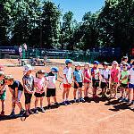 Zajęcia tenisowe, gra w tenisa
