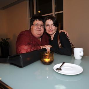 Henryka Krzywonos i Izadora Weiss