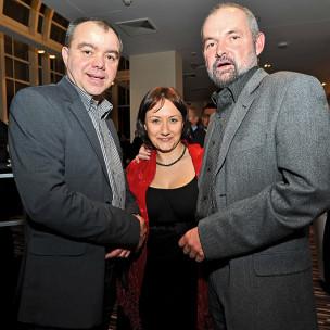 Jacek Borzych, Małgorzata Kaliszewska i Konrad Mielnik