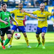 Łukasz Tymiński, Vinicius da Silva de Oliveira Marcus i Dominik Hofbauer