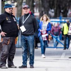 Piotr Świst z rozmowie z gdańskim toromistrzem