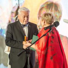 Prof. dr n. med. Tomasz Trojanowski i Krystyna Przybylska