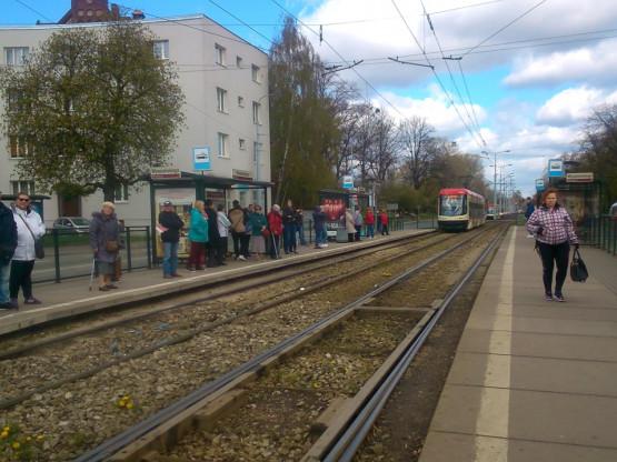 Skutki awarii tramwaju