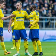 Michał Marcjanik, Dominik Hofbauer i Yannick Kakoko Sambea