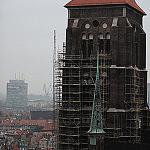 Bazylika Mariacka podczas renowacji
