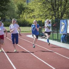 Bieg dziewcząt