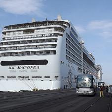 wycieczkowiec z Panamy