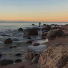 Gdynia Orłowo wschód słońca 27.05.2017