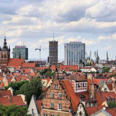Nad dachami Gdańska 8 czerwca