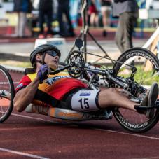 Michał Dziuba, 1500 metrów wózki
