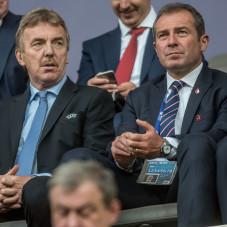 Zbigniew Boniek i Marek Koźmiński