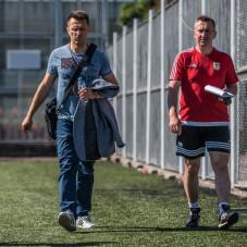 Leszek Ojrzyński i Grzegorz Opaliński