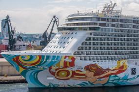 Wycieczkowiec Norwegian Getaway w Gdyni