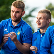 Grzegorz Piesio i Patryk Kun