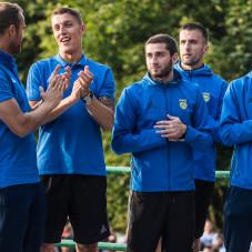 Damian Zbozień, Luka Zarandia, Vinicius da Silva de Oliveira Marcus i