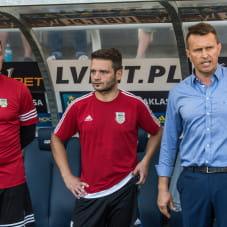 Jarosław Krupski, Patryk Kniat i Leszek Ojrzyński