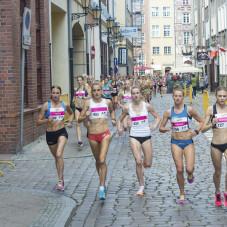Paulina Kaczyńska (nr 202). Najlepsze w biegu na 5 km