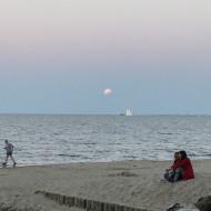Częściowe zaćmienie księżyca w Orłowie