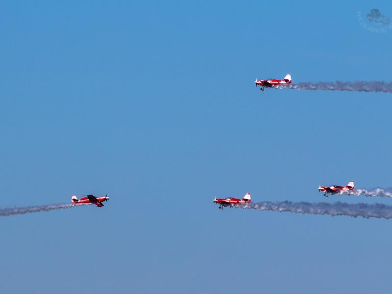 Pokazy lotników rozświetliły niebo nad Gdynią