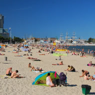 Lato 2017 na gdyńskiej plaży
