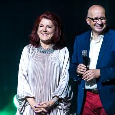 Urszula Dudziak i  Piotr Łyszkiewicz