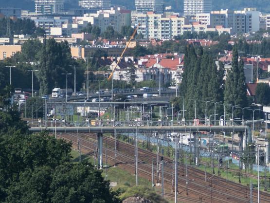 Zamknięty tunel, duże korki w centrum Gdańska