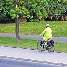 Po co budują pedalistom drogi dla rowerów? I tak pedałują po chodniku.